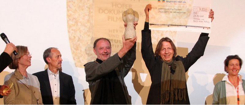 »RAUS« wins main award for best documentary at »Hofer Filmtage« festival 2018